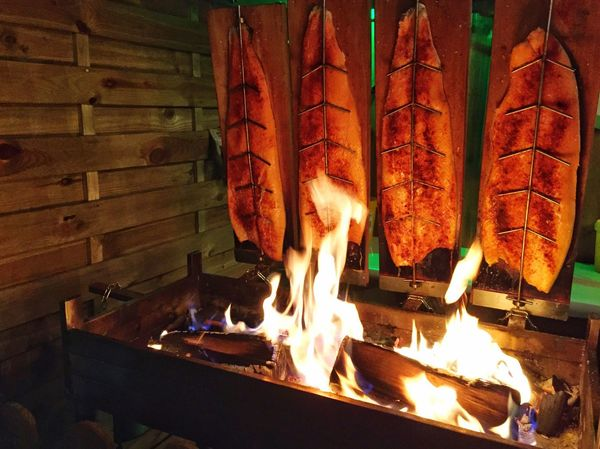 My Winter Favorites Barbecue in wintertime on a street market in Rapperswil, Switzerland Barbecue BBQ BBQ Time Salmon Grill Wintertime Barbecue Grill Salmone Lachs Fireplace Grill Grilling Streetfood Street Food Street Food Worldwide