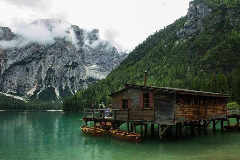 Hidden Gems  Nature Lake Mountains Cabin Wood