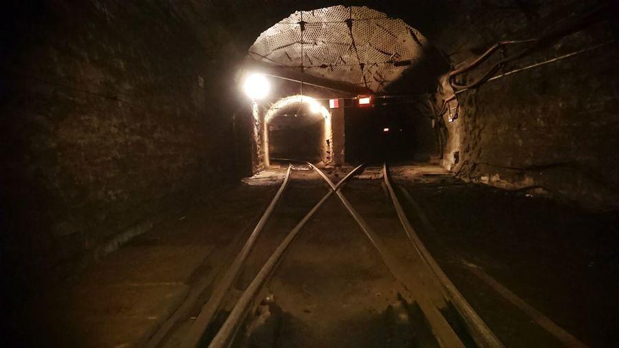 Na rozdrożu / światełko w tunelu Illuminated Railroad Track Light Painting Railway Track Long Exposure Passenger Train Waterfall Star Trail First Eyeem Photo