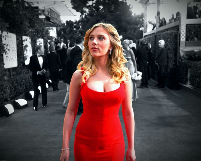 Scarlett Johansson everybody must love her ;)