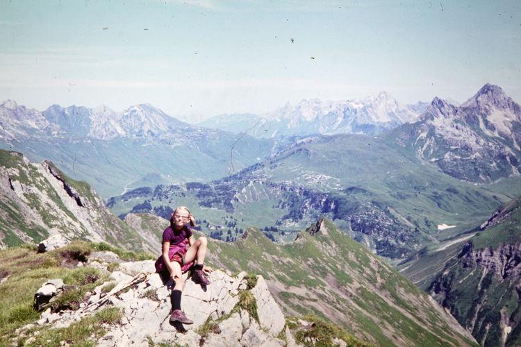 Schröcken 1970 1970 1970s Austrian Alps Alps Austria Beauty In Nature Day Good Old Days Hiking In The Mountains Mountain Nature Scenics - Nature Schröcken Vintage Tourism Photo Wandern In Den Alpen Österreich Österreich ♥️