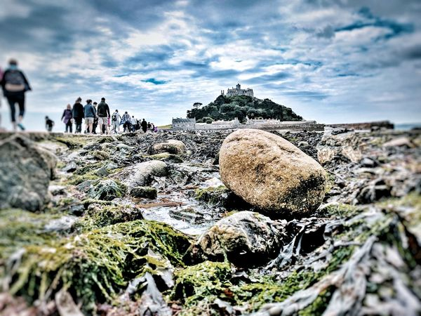 Cornwall Beach St Michaels Mount Summer Travels Joy Ride Amateurphotography Castle Island Sandy Cornwall England🇬🇧