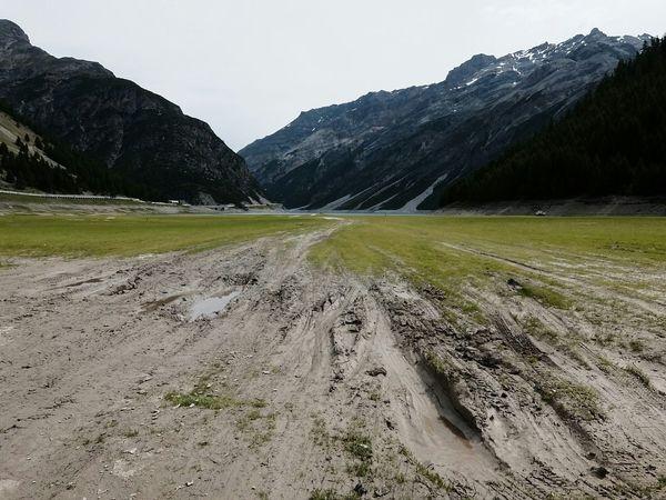 Livigno Valtellina Mountains Mountain Lake Alps Mud Cloudy Kodachrome The Purist (no Edit, No Filter) Fujifilm