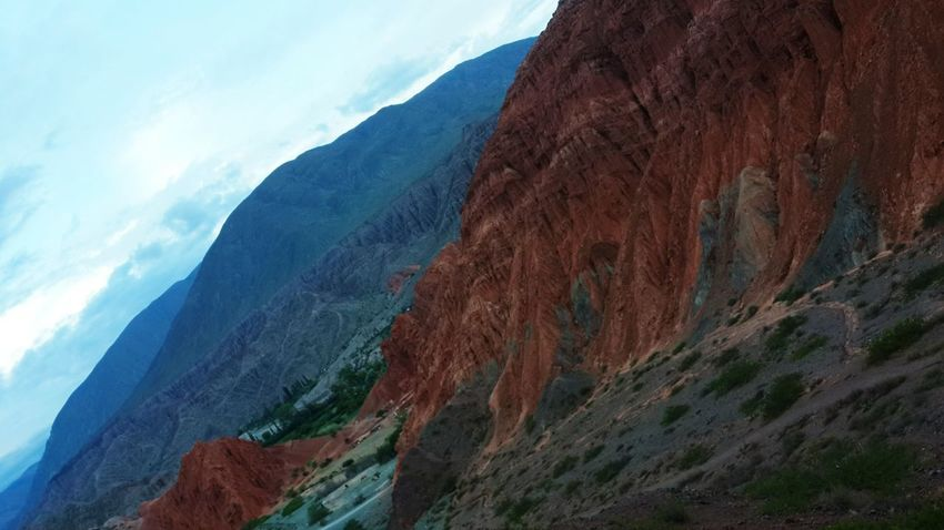 Mountain Landscape Nature No People Extreme Terrain Nature Reserve Norte Argentino Jujuy, Argentina Purmamarca Colours Of Nature Beauty In Nature Physical Geography Paisaje Backgrounds Enviroment