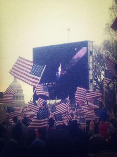 Washington DC At The Inauguration