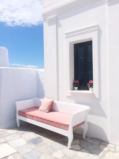 Oia, Santorini Architecture House Day Santorini Greece Pastels Famous Place Vacations Travel Destinations Holiday