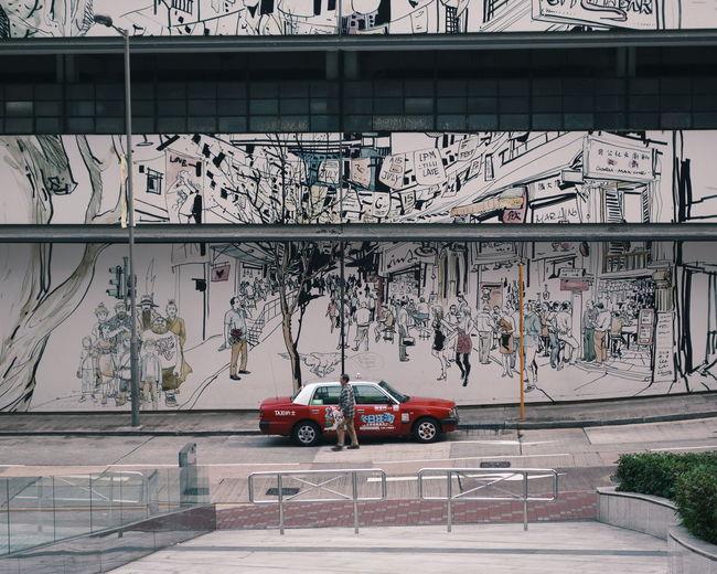 Hong Kong HongKong Discoverhongkong Streetphotography Street Photography Street Taxi Chasing Taxi