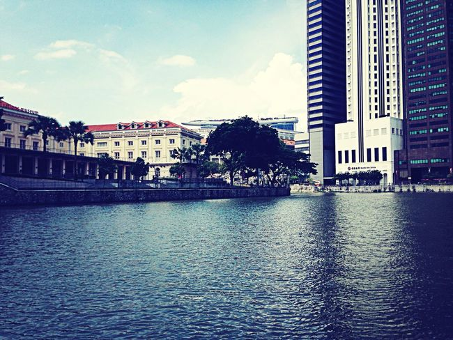 At singapore river cruise ? Check This Out Hanging Out Hello World Taking Photos