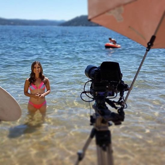 Great day Shooting Onlocation & can't believe how useful a small VersaBrella is. Tho I need to remember more Sunscreen Northwest Upperleftusa LakeCoeurdalene Productionlife making Tvmagic