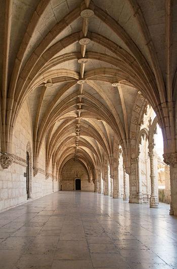 Interior of corridor