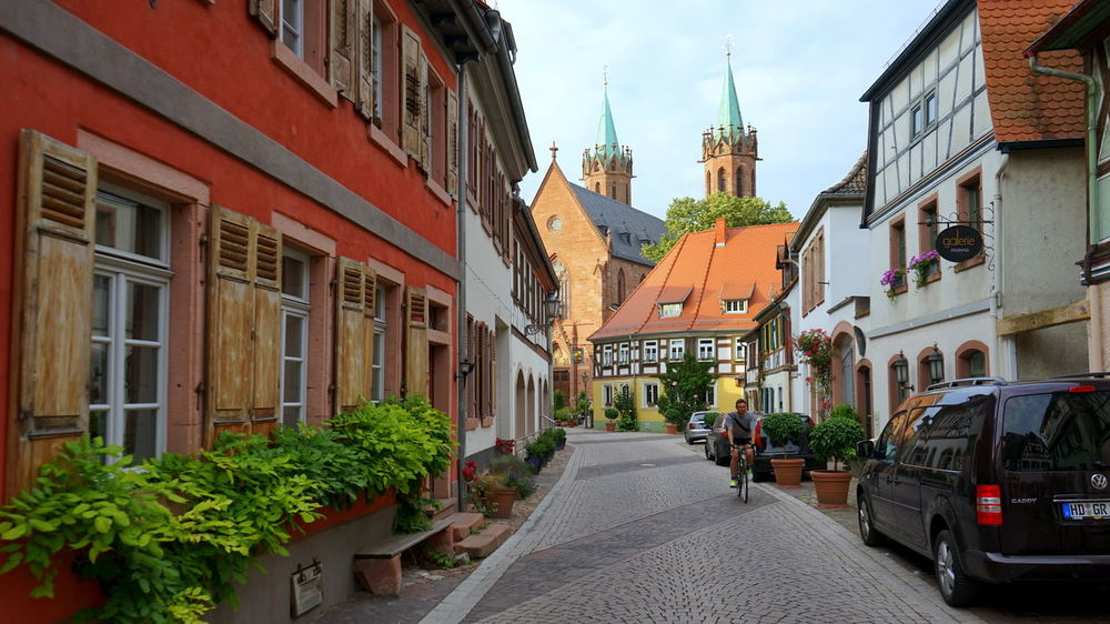 Ladenburg Streets Architecture Church City Historic Ladenburg Germany Residential District Street Streetphotography Tourism Window Adventures In The City