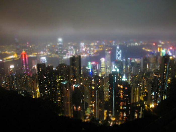 A view from Thepeak hongkong Oldpost
