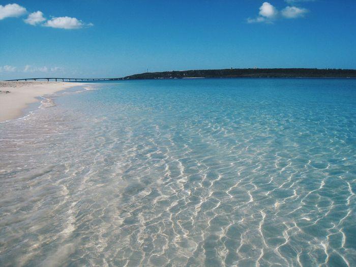 Beach Sea And Sky 与那覇前浜ビーチ