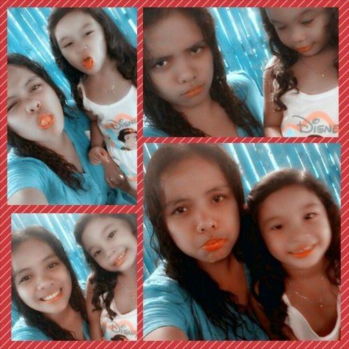 Cowe and Tita :)) CurlyGirls YolandaHomeAndSafe