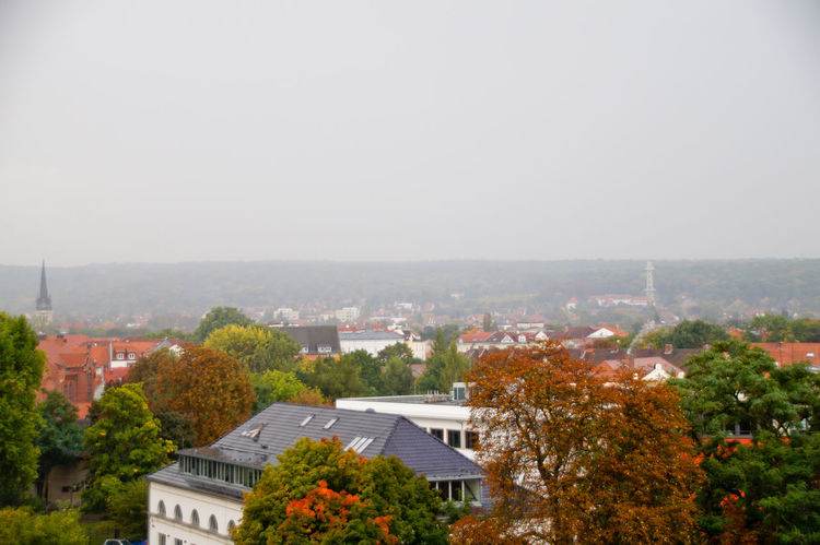 Cityscape Dom Jahrmarkt Postcode Postcards Rethink Things Second Acts Architecture Autumn Beauty In Nature Building Exterior Built Structure City Cityscape Clear Sky Day Dome High Angle View House Nature No People Outdoors Residential Building Roof Sky Tiled Roof  Tree