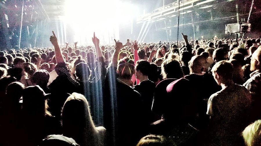 Arts Culture And Entertainment Concert Crowd Deichkind Enjoyment Hip Hop Large Group Of People Motion Music