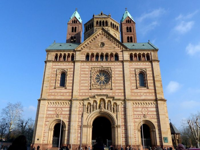 Church Speyer, Germany Speyerer Dom Dome EyeEm Selects Architecture Building Exterior Arch Religion Travel Destinations