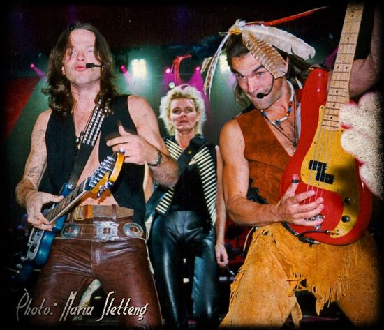 "Micke ""Nord"", Eva Dahlgen och Andre Ferrari. Rockphotographer Rockphoto Music Singer  Eyeemmarket Evadahlgren Famous People"