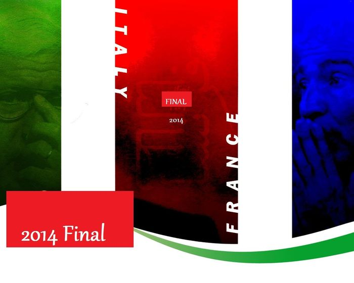فرنسي العشق ... ايطالي الهوى ♥ كم اتمنى هذه اللحظة التاريخية نهائي فرنسا VS إيطاليا في الحالتين انا مرتاح Brazil 2014 World Cup World Cup France Italy