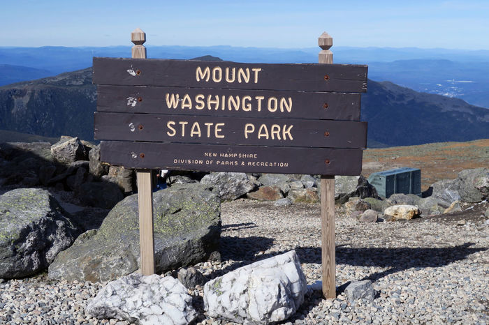 EyeEm Best Shots EyeEm Nature Lover EyeEmNewHere Mount Washington  USA Beauty In Nature Blue Sky Communication Day Glacial Landscape Mountain Mountain Range Nature No People Outdoors Physical Geography Rock - Object Scenics Sky Text Travel Destinations