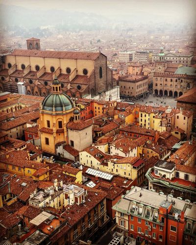 City Architecture Building Exterior Built Structure Travel Destinations Cityscape Lifestyles Sky Dome People Day Outdoors Bologna, Italy Bologna_city Bolognadavivere Bologna La Rossa Eyemcaptured Eyembestpics Eyem Best Shots Eyem Best Shot - My World EyeEmBestPics Eye4photography  Eye4photography  Eyes Closed  Red Background Travel My Best Travel Photo
