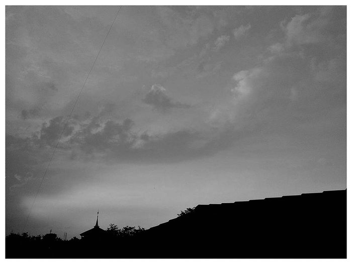 Silhouette Outdoors No People Nature Sky Scenics Day Architecture Windmill Bw_photooftheday Bw_lovers Bw_indonesia Bekasi, Indonesia BW_photography