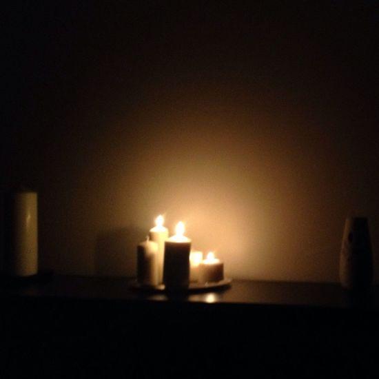 احتفظ بالشموع دائماً ،،انتظر ليله بدون كهرباء.. First Eyeem Photo