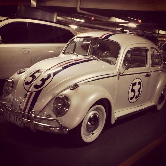 A wild Herbie has appeared! The Love Bug