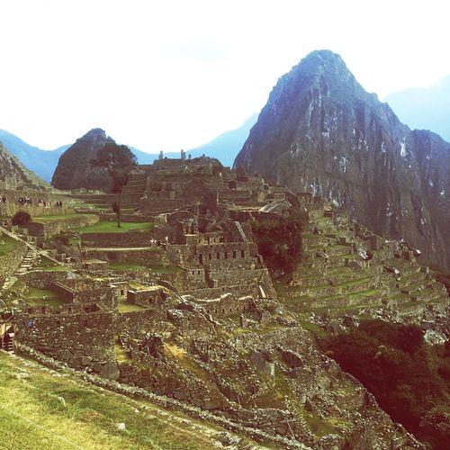 Inca Ruins Landscape Mountain MachuPicchuPerú MachuPicchu Machu Picchu