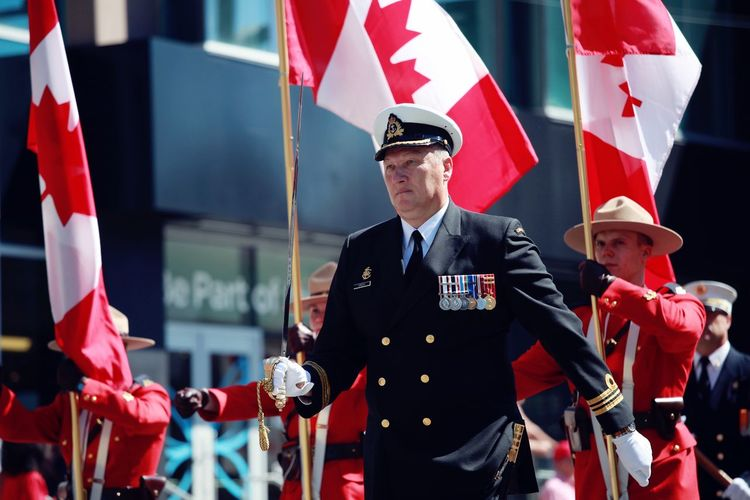 Professionalphotography Enjoying Life Proud Taking Photos Canada Canada Day Canada Flag Flag Procession Marching Parade Check This Out