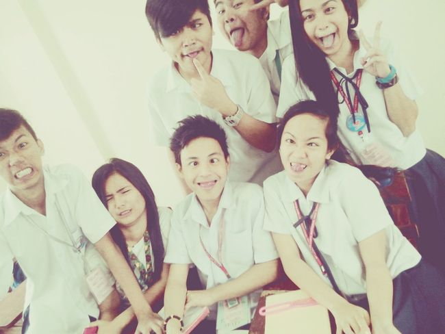 wakie with them hahaha :))