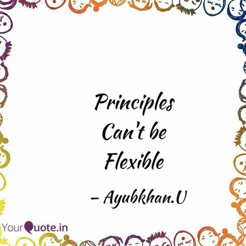Is there a Flexible Principle? By Ayubkhan.U