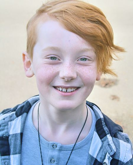 redheaded kid Childmodel Childmodeling Beautifulkids ModelKids Freckles Freckledkid Redhair Redhairedboy Redhairedkids Cutekids Boy Teens Bigeyes 9yearsold Kidmodel Portrait Child Smiling Childhood Happiness Cheerful Looking At Camera Headshot Boys Human Face Freckle Junior High