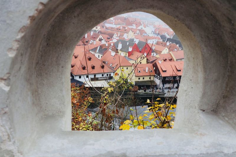 Through the fortress window Urban Scene Danube River Built Structure Architecture Wall - Building Feature Arch History No People The Past Window Building Day Building Exterior Outdoors Creativity Old Pattern Low Angle View Wall