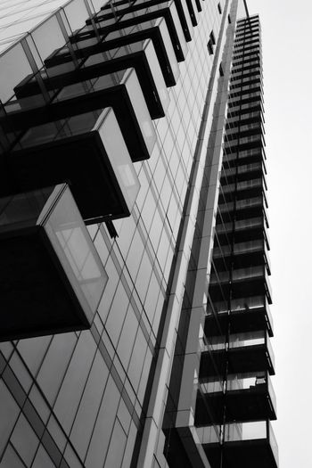 Photo Photography Photooftheday Blackandwhite Architecture Built Structure Building Exterior Low Angle View Building Day No People