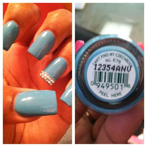My #Nailsflow Cant Find My Czechbook I❤this Color