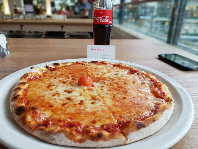 Pizza time #pizzalove #Vapiano #Berlin #Germany , #lunchtime #pizzza #italianfood #tastypizza #yummy