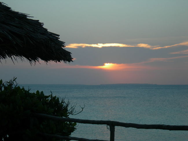 sunset in Zanzibar Sunset Sea Beach Sun