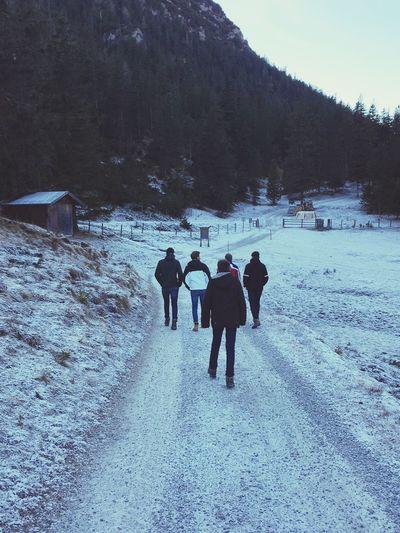 Cold On A Hike Hiking Kids Gapa1516