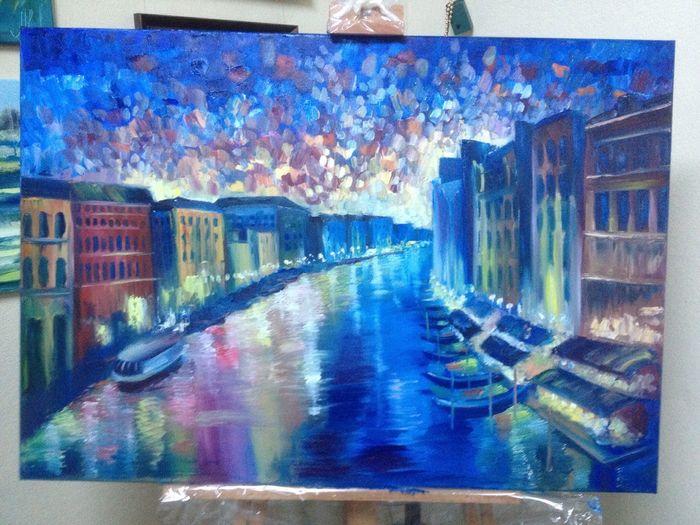 Venice Paint Oil Painting Color