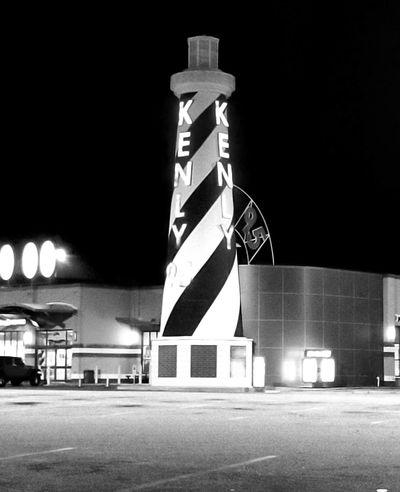 Night Illuminated Built Structure Architecture Outdoors Neon Shadows & Lights Black & White The Week On EyeEm EyeEmNewHere