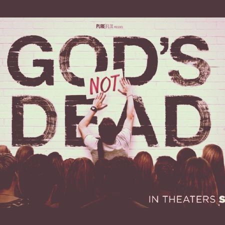 """I just got done watching this incredible movie """"Godsnotdead """" and i was deeply moved by it's story! It is such a great movie I encourage everyone to watch it!! GOD is truly NOT"""