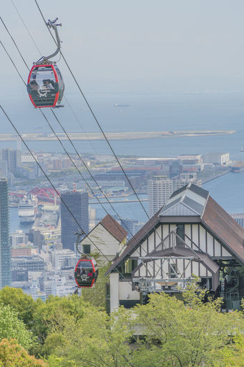 Ropeway Architecture Built Structure Building Exterior Sky Transportation Mode Of Transportation Nature Day Water Plant Cable Car No People Cable Overhead Cable Car Building Outdoors City Travel Connection