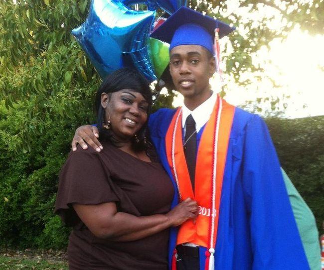 Me nd my momz @ my graduation