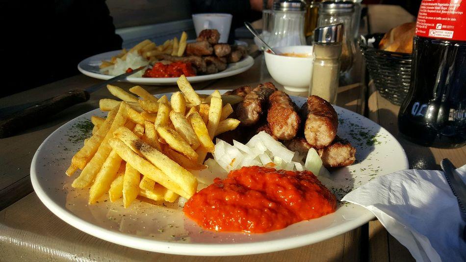 Balkanian Cevapi Nostalgia French Fries Food Food And Drink Freshness Ready-to-eat Love Stuffed Happy Cevapi Balkan EyeEmNewHere