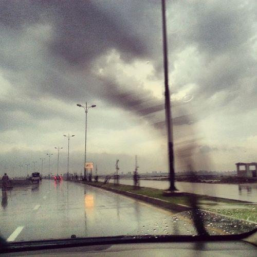 Rain Craziness Instagram Tabahi ! because my navigator (@thelongfacedkid ) rocks !