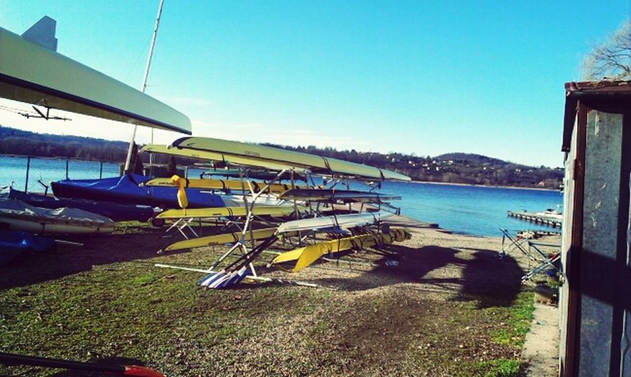 Rowing Enjoying The Sun Boats Training