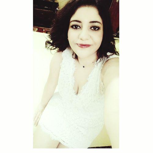 White Dress Im Ready My Friend's Wedding Happy Me How I Look? 😊😍☺