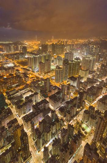 Nightlife in the big city