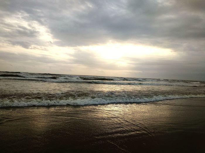 Sand Sun Backgrounds Summer Romantic Sky Wave Shore Sandy Beach Calm Moody Sky
